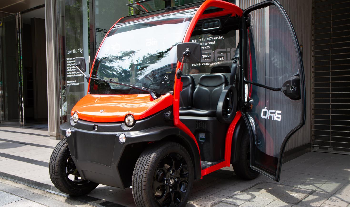 小さいクルマほどデザインが重要なワケ  イタリアからきた小型EV、BIRO試乗レポート