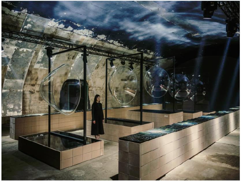 素材メーカーが牽引するデザイン  AGC・ミラノデザインウィーク作品から見えたもの